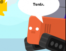 Turd the Target 2 - Turd-a-Pult