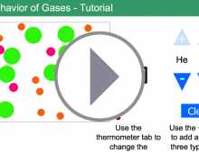 Behavior of Gases Tutorial