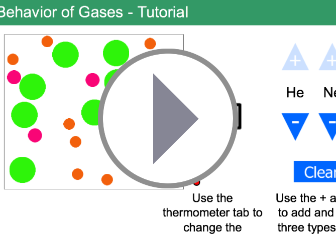 Chemthink – The Behavior of Gases (HTML5 Version)